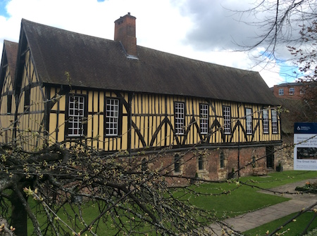 The Merchant Adventurers' Hall.
