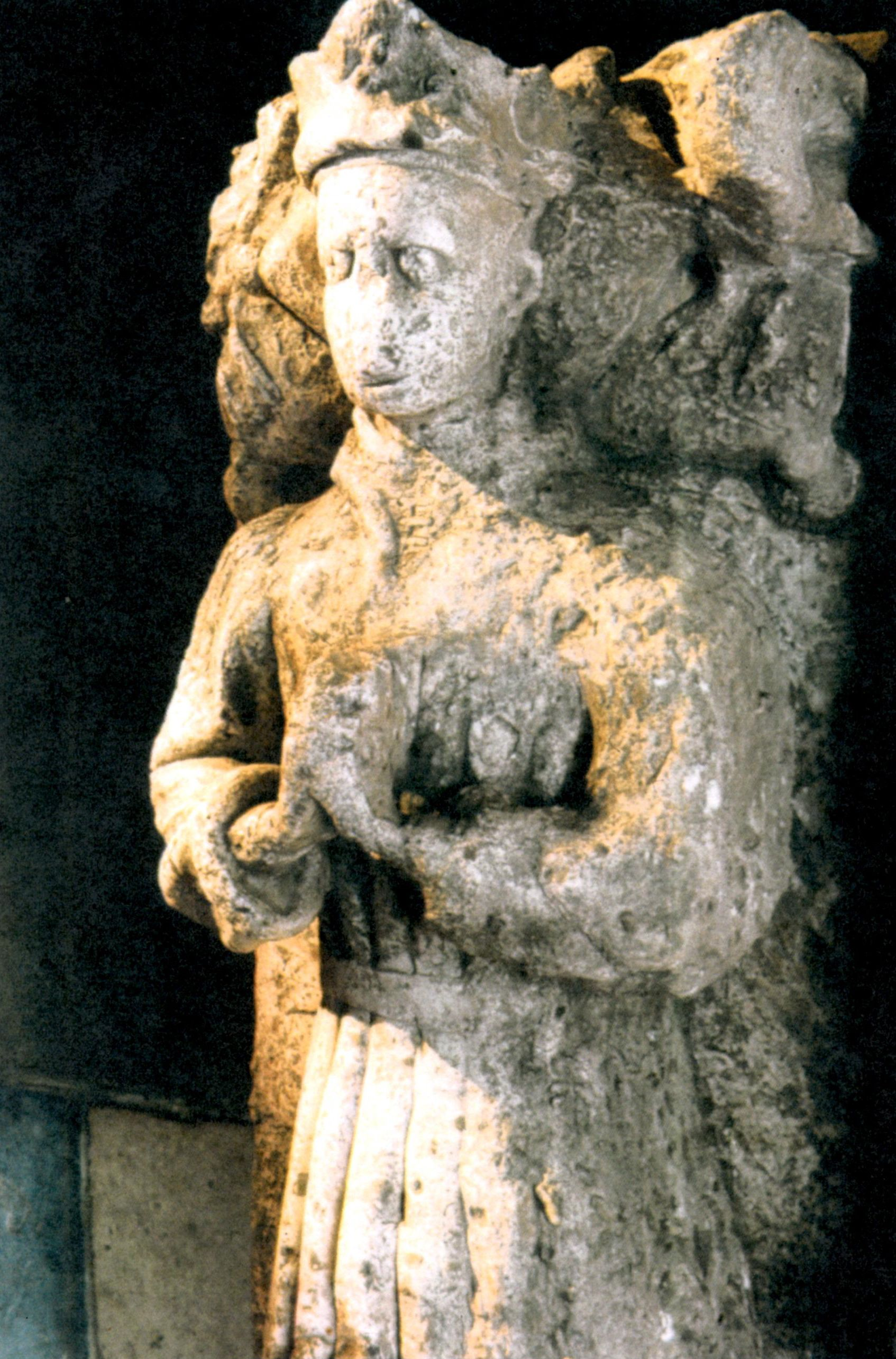 Alabaster effigy