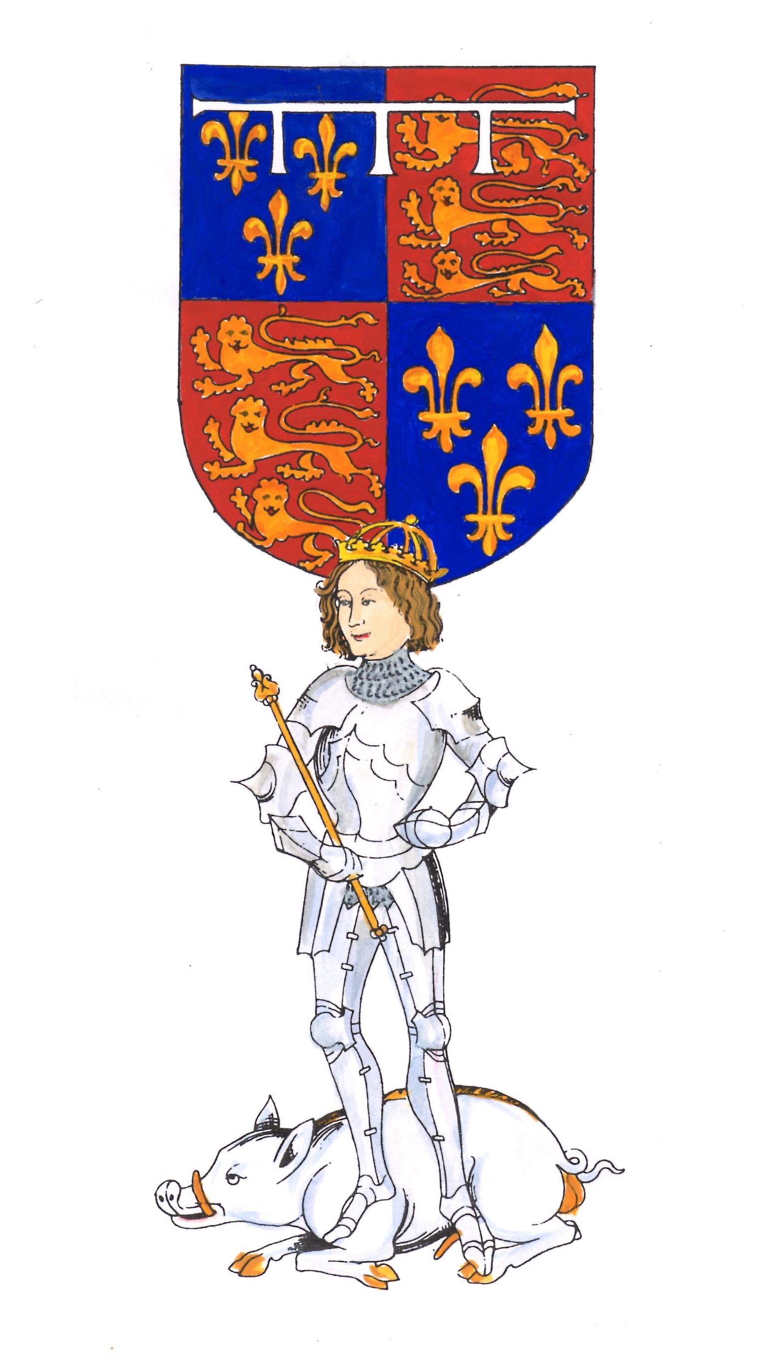 Prince Edward based on the Rous Roll.