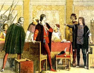 The Arrest of Lord Hastings. By James Doyle