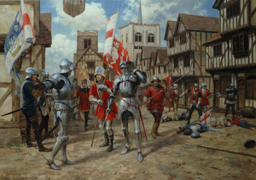 The First Battle of St Albans by Graham Turner